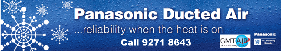 Panasonic Air conditioning Perth