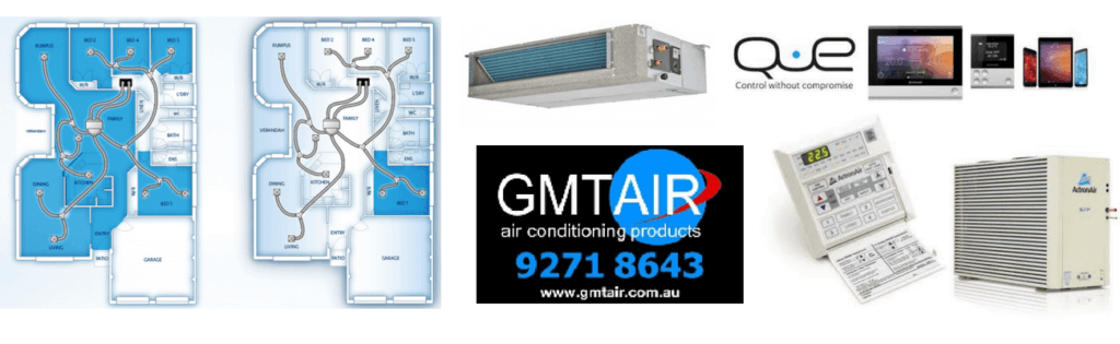 Actron Air ducted air conditioning Perth